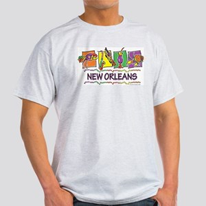 New Orleans Squares Light T-Shirt