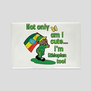 Not only am I cute I'm Ethiopian too! Rectangle Ma