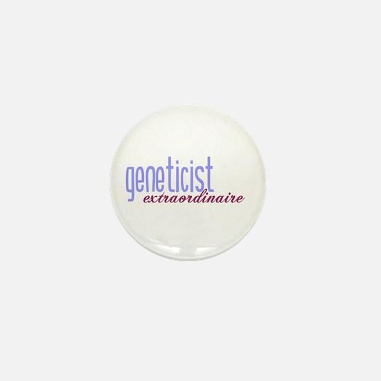 Geneticist Extraordinaire Mini Button