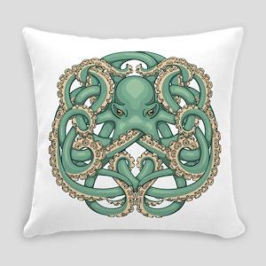 Octopus Emblem Everyday Pillow
