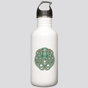 Octopus Emblem Water Bottle