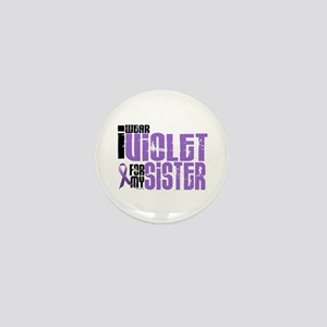 I Wear Violet For My Sister 6 Mini Button