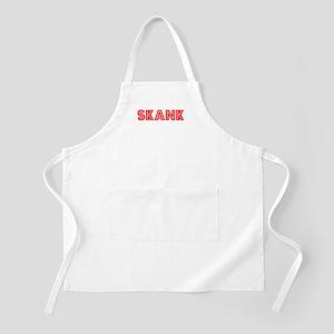 Retro Skank (Red) BBQ Apron