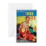 "Greeting (10)-""The Third Sex"""