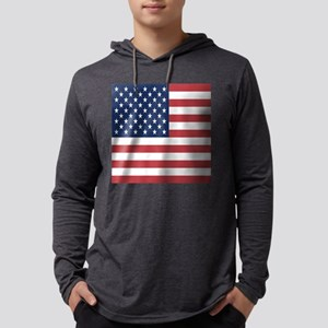 Patriotic USA flag Long Sleeve T-Shirt