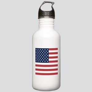 Patriotic USA flag Stainless Water Bottle 1.0L
