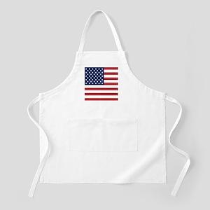 Patriotic USA flag Light Apron