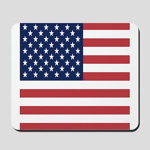 Patriotic USA flag Mousepad