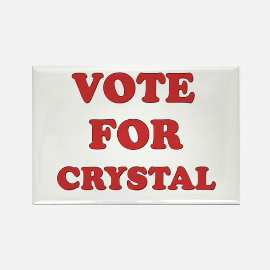 Vote for CRYSTAL Rectangle Magnet