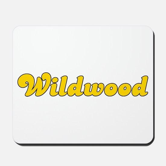 Retro Wildwood (Gold) Mousepad