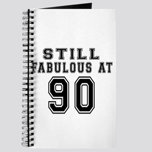 Still Fabulous At 90 Birthday Designs Journal