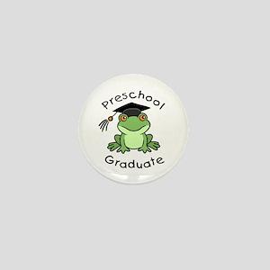 Frog Preschool Graduate Mini Button