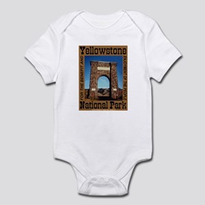 Roosevelt Arch YNP Infant Creeper