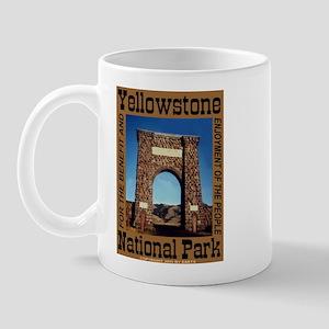 Roosevelt Arch YNP Mug