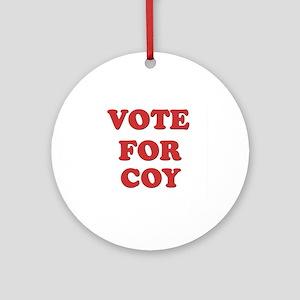 Vote for COY Ornament (Round)