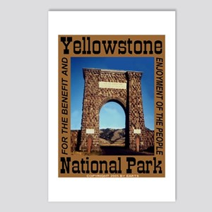 Roosevelt Arch YNP Postcards (Package of 8)