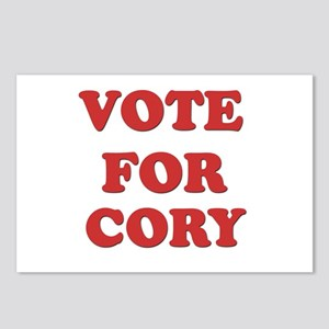 Vote for CORY Postcards (Package of 8)