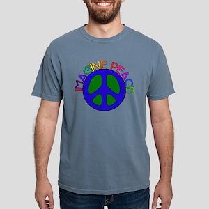 Imagine Peace Mens Comfort Colors Shirt