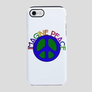 Imagine Peace iPhone 8/7 Tough Case