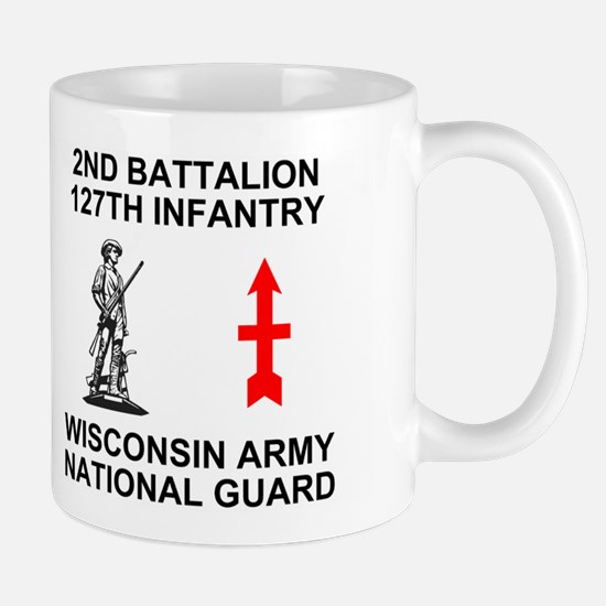 127th Infantry <BR>HHC 11 Ounce Mug 1