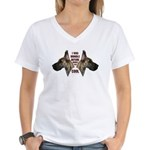 Brindle is Cool Women's V-Neck T-Shirt
