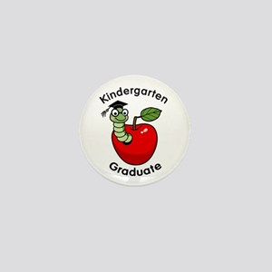 Bookworm Kndergaten Graduate Mini Button