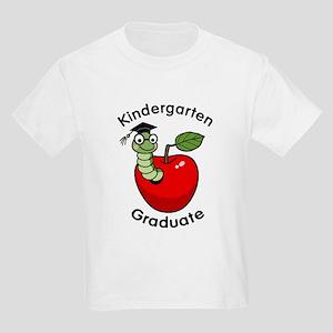 Bookworm Kndergaten Graduate Kids Light T-Shirt