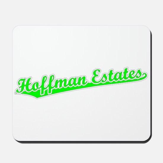Retro Hoffman Esta.. (Green) Mousepad