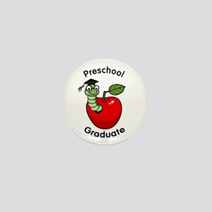 Bookworm Preschool Graduate Mini Button