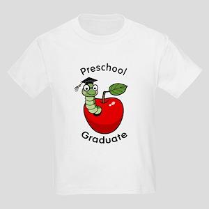 Bookworm Preschool Graduate Kids Light T-Shirt