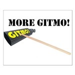 more gitmo cowbell Small Poster