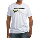 more gitmo cowbell Fitted T-Shirt