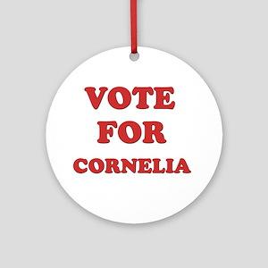 Vote for CORNELIA Ornament (Round)