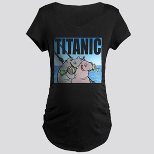 TITANIC Maternity Dark T-Shirt
