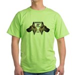 Dagmar's Brindle University Green T-Shirt