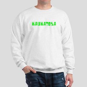 Wauwatosa Faded (Green) Sweatshirt