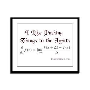Push The Limits Framed Panel Print