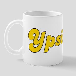 Retro Ypsilanti (Gold) Mug