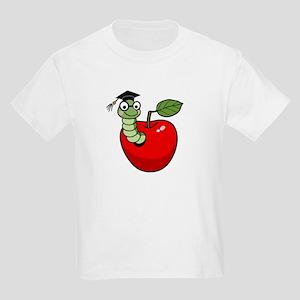 Bookworm Graduate Kids Light T-Shirt