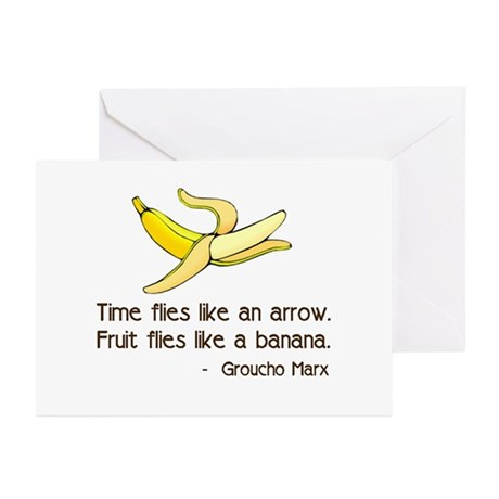 Time Flies Greeting Cards (Pk of 10)