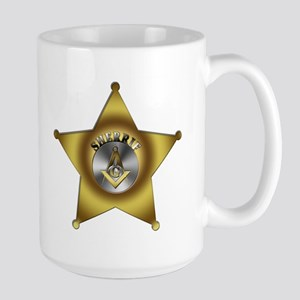 Masonic Sherrif Large Mug
