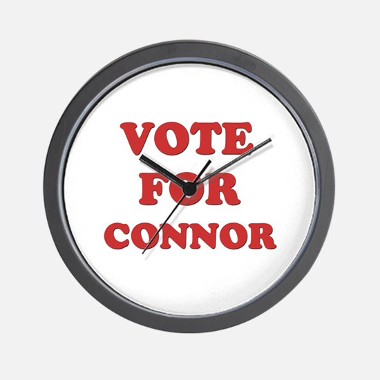Vote for CONNOR Wall Clock