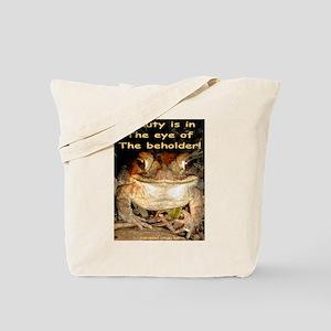 Beautiful Toad Tote Bag