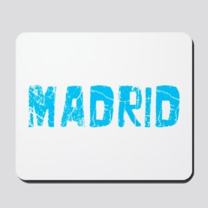 Madrid Faded (Blue) Mousepad