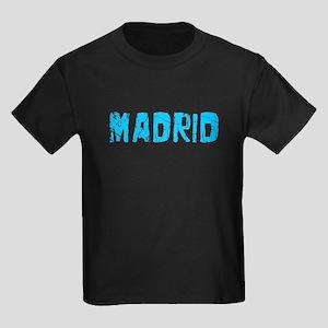 Madrid Faded (Blue) Kids Dark T-Shirt