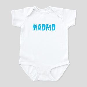 Madrid Faded (Blue) Infant Bodysuit