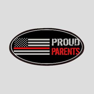 Firefighter: Proud Parents (Black) Patch