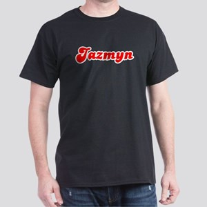 Retro Jazmyn (Red) Dark T-Shirt