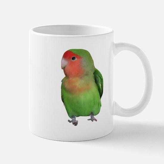 Peach-faced Lovebird Mug