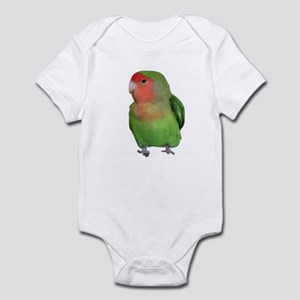 Peach-faced Lovebird Infant Bodysuit